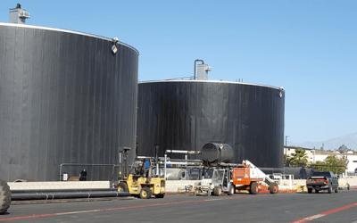 Kelterite Asphalt Oil Storage