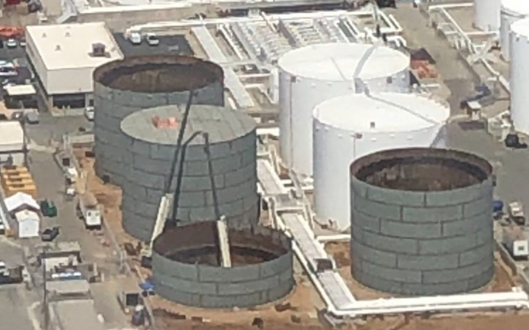 Pacific Tank To Construct 60 M BBL Jetfuel Tanks for International Airport in California